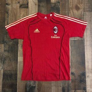 Adidas AC Milan Soccer Jersey T-Shirt